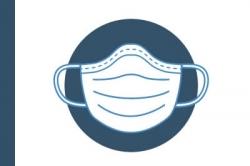Staubmaske FFP 2 mit Ventil, Strauss - Packung 135 Stück